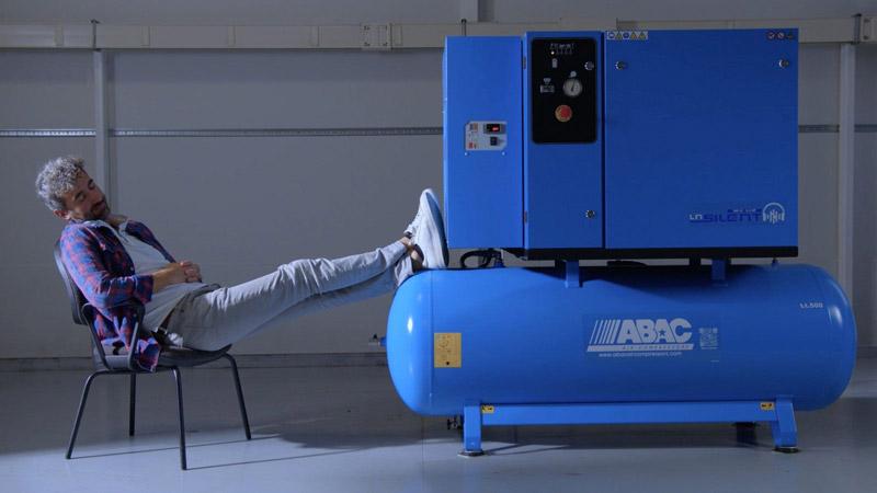 کمپرسور دو مرحله ای آبک ABAC ایتالیا