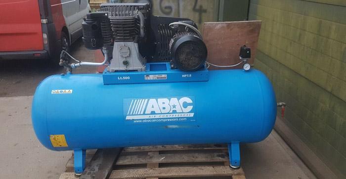 کمپرسور باد ۵۰۰ لیتری آبک ایتالیا ABAC