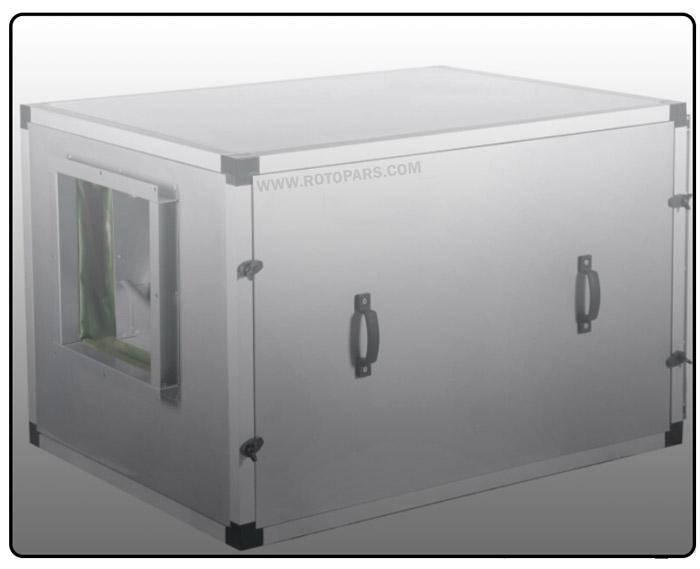 ویژگیهای فنی هواکش سانتریفیوژ کابین دار